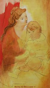 Mother and Child III (Homage to Pablo Picasso)